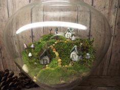 Beautiful Miniature Landscape Large Live Moss door GypsyRaku