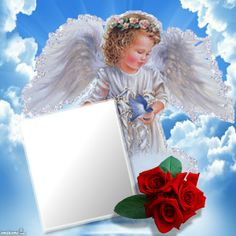 loving memory Bruecke in Memory Of Happy Birthday Frame, Birthday Frames, Angel Pictures, Jesus Pictures, Flower Frame, Flower Art, Mom In Heaven Quotes, Christening Invitations Boy, Foto Frame