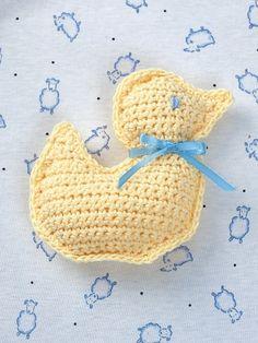 Duck Toy - Free Pattern