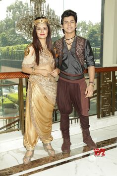 New Delhi: Siddharth Nigam and Navneet Kaur at a press meet - Social News XYZ Photos: Actor a press meet of the television show Child Actresses, Child Actors, Actors & Actresses, Baby Animals Super Cute, Teen Celebrities, Girl Attitude, Stylish Girl Images, Cute Actors, Indian Designer Outfits