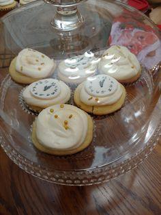 New Year's Cupcakes, I Party, Parties, Desserts, Food, Fiestas, Tailgate Desserts, Deserts, Essen