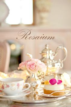 The Rosarium Tea Salon. Everything about this picture screams beautiful to me #AfternoonTea