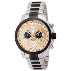 New! Invicta Men's 0079 Specialty Quartz Chronograph Brown Dial Watch www.themtlcollection.com
