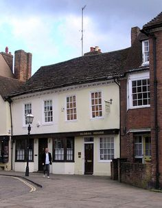 Causeway in Horsham, Sussex, birthplace of Percy Bysshe Shelley