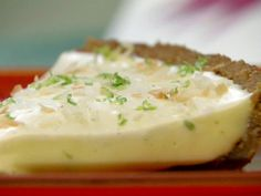 Bobby Flay's Coconut Whipped Cream recipe for @Greg Takayama Ryan's Coconut Key Lime pie.