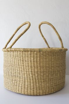 medina large natural accra basket – Lost & Found