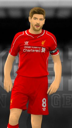 Lfc Wallpaper, Liverpool Fc, Football Liverpool, Stevie G, This Is Anfield, Leonel Messi, Steven Gerrard, Football Pictures, Soccer