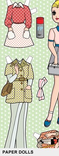 paper dolls...be careful not to rip off the little tabs! :)
