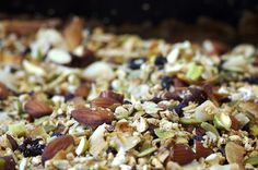 Apple and Hazelnut Gluten Free Granola - Homespun Capers