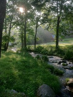 Stay creekside in the mountain of Western North Carolina