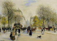 Paris Jean-François Raffaëlli - 1900