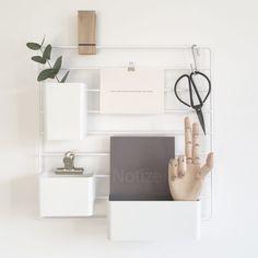 [Interiør] ↠ Home Office im Scandic-Look! String Organizer ♡