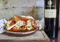 Gourmet closed sandwich with paired with the Lanzerac Pinotage Deli, Sandwiches, Homemade, Sweet, Gourmet, Candy, Home Made, Paninis, Hand Made