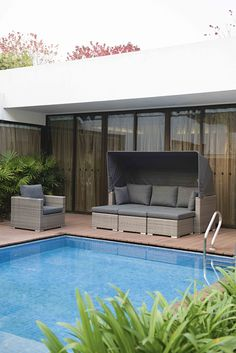 Jack Lounge Comfort Outdoor Sectional, Sectional Sofa, Lounges, Outdoor Furniture, Outdoor Decor, Home Decor, Modular Couch, Decoration Home, Room Decor