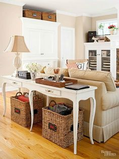 Just because you may live in a small home does not mean that you can't create a beautiful home for yourself that lives large.     Move Furn...