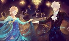 """Just this one dance"" The statement reached for my ears while his hand reached for mine. ""Only the one?"" The question followed my hesitant hand. ""Well if you ask nicely, you can have a second dance."" The wink he threw my way tripped me, and made me at loss for words. Who was this Jack Frost?"