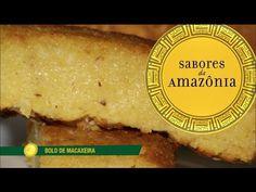 Bolo de macaxeira - Sabores da Amazônia