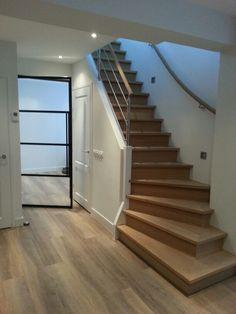 Stalen binnen deuren - Stalen kozijnen Home Improvement, Stairs, Interior, Home Decor, Ladders, Homemade Home Decor, Indoor, Stairway, Staircases