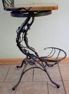 barstools/chairs/wrought iron furniture