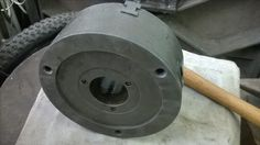 Chuck lathe restoration