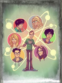Something I did with my friend Leonardo Olea that will never see the light at least officially ha ha!! The Big Bang Theory