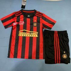 61e629466a1 Kids Youth Atlanta United 19 20 Wholesale Home Cheap Soccer Kit Sale Cheap  Jersey
