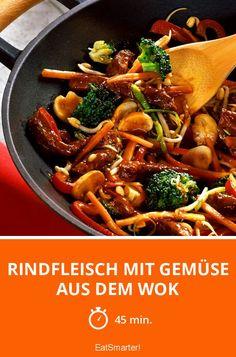Rindfleisch mit Gemüse aus dem Wok - smarter - Zeit: 45 Min. | eatsmarter.de