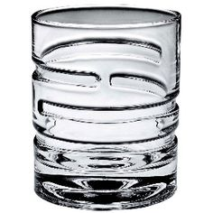 Pirouette Rotating Linea Whiskey Glass
