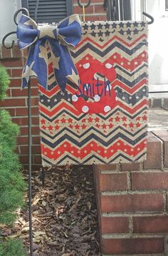 Hey, I found this really awesome Etsy listing at https://www.etsy.com/listing/190856591/patriotic-burlap-garden-flag-american