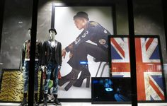 "DSQUARED, London, UK, ""Proud to be British"", photo by Jonathan Baker, pinned by Ton van der Veer"