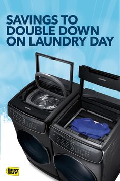 Get up to 40% off Appliance Top Deals now. Keep your holiday best looking fresh with the Samsung FlexWash and FlexDry. It's two washers and two dryers in one powerful pair, saving you time on laundry day. Black Friday appliance deals have started and your calendar is filling up with parties. Coincidence? We think not. Offer valid 11/1/17 – 11/29/17. Minimum savings is 5%. Includes clearance and open-box.
