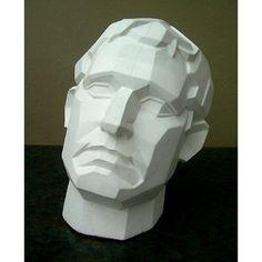 Amazon.com: Plaster Casting- Angular Male Face