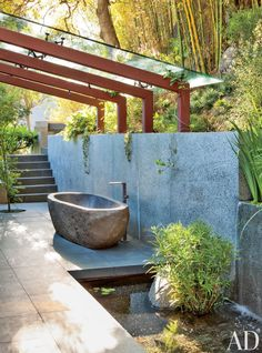 architectural digest outdoor spaces | ... Design | AD DesignFile - Home Decorating Photos | Architectural Digest