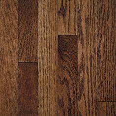 Mullican Flooring�Mullican 3-in W Prefinished Oak 3/4-in Solid Hardwood Flooring (Tuscan Brown)