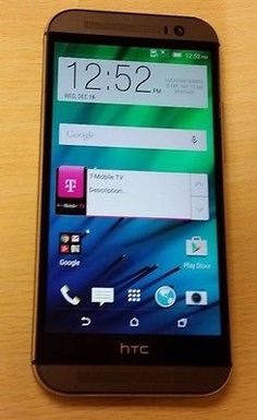 awesome Excellent HTC One M8 32GB T-Mobile 4G LTE 5 Full HD Unlocked GSM Smartphone A - For Sale