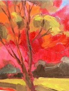 Arbre à Huile Oil On Canvas, Artwork, Painting, Canvas