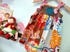 NEW FOR FALL-  Tweed Treasures Knot dress. $48.50, via Etsy.
