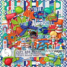 After Five Designs::Full Kits::Just Add Water, by Kristin Aagard