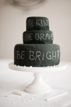 chalkboard birthday cake & candy chalk