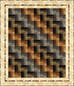 Pieced, lap, twin, double & queen size quilt pattern. Strip-Easy Rail Fence Quilt Pattern PC-187 by PC - Patti Carey.  Check out more of our quilt patterns. https://www.pinterest.com/quiltwomancom/quilts/  Subscribe to our mailing list for updates on new patterns and sales! http://visitor.constantcontact.com/manage/optin?v=001nInsvTYVCuDEFMt6NnF5AZm5OdNtzij2ua4k-qgFIzX6B22GyGeBWSrTG2Of_W0RDlB-QaVpNqTrhbz9y39jbLrD2dlEPkoHf_P3E6E5nBNVQNAEUs-xVA%3D%3D