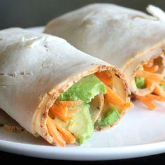 Paleo dieet wraps met avocado en kalkoen een lekkere & gezonde lunch