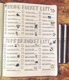 Bullet Journal Collections: Where Anything Goes - . - Bullet Journal Collections: Where Anything Goes – Best Picture - Bullet Journal Bucket List, Bullet Journal 2020, Bullet Journal Aesthetic, Bullet Journal Notebook, Bullet Journal Ideas Pages, Bullet Journal Spread, Bullet Journal Inspo, Bullet Journal Layout, Journal Pages