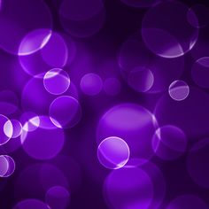 purple bokeh