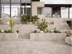 Baldosas de exterior de piedra natural sakkara pavesmac - Plaquetas suelo exterior ...