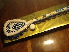 Lacrosse Cupcakes on Cake Central