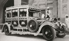 Extravagantly detailed Silver Ghost from the early 1920s.