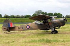 Privately owned Auster AOP.V restored to its RAF colors