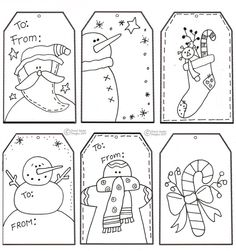 Printable Christmas Crafts For Kids