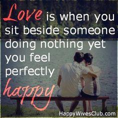 Love is When…