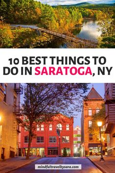 Looking for the Best things to do in SARATOGA SPRINGS NY? Here you have my Saratoga Springs Travel Guide with the best travel tips & top places to visit in Saratoga Springs. You'll find everything from fun things to do in Saratoga Springs with kids to romantic things in Saratoga. Saratoga Springs fall, winter & summer | What to do in Saratoga Springs New York | Saratoga Springs restaurants, hotels & shopping | Downtown Saratoga Springs | NY getaway | #SaratogaSprings #Saratoga #UsaTravel Affordable Honeymoon, Honeymoon Tips, Honeymoon Places, Honeymoon Destinations, Travel Blog, Usa Travel Guide, Travel Usa, Travel Tips, Saratoga Springs Restaurants